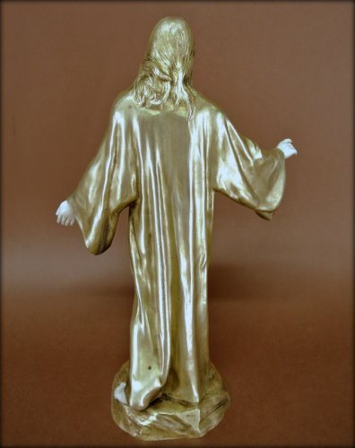 20th century - Sacred heart of Jesus, signed P Gasq