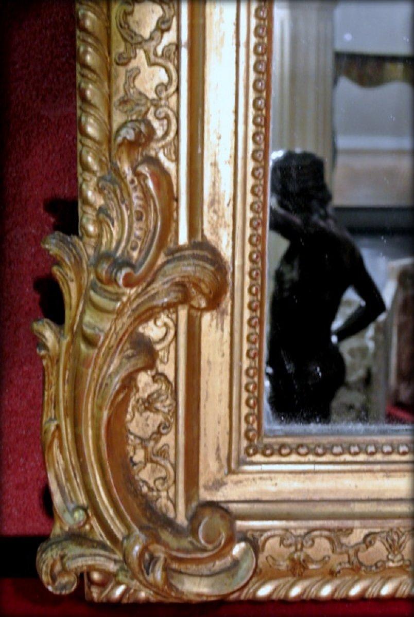 Miroir fronton d 39 poque xixe for Marc miroir kraft