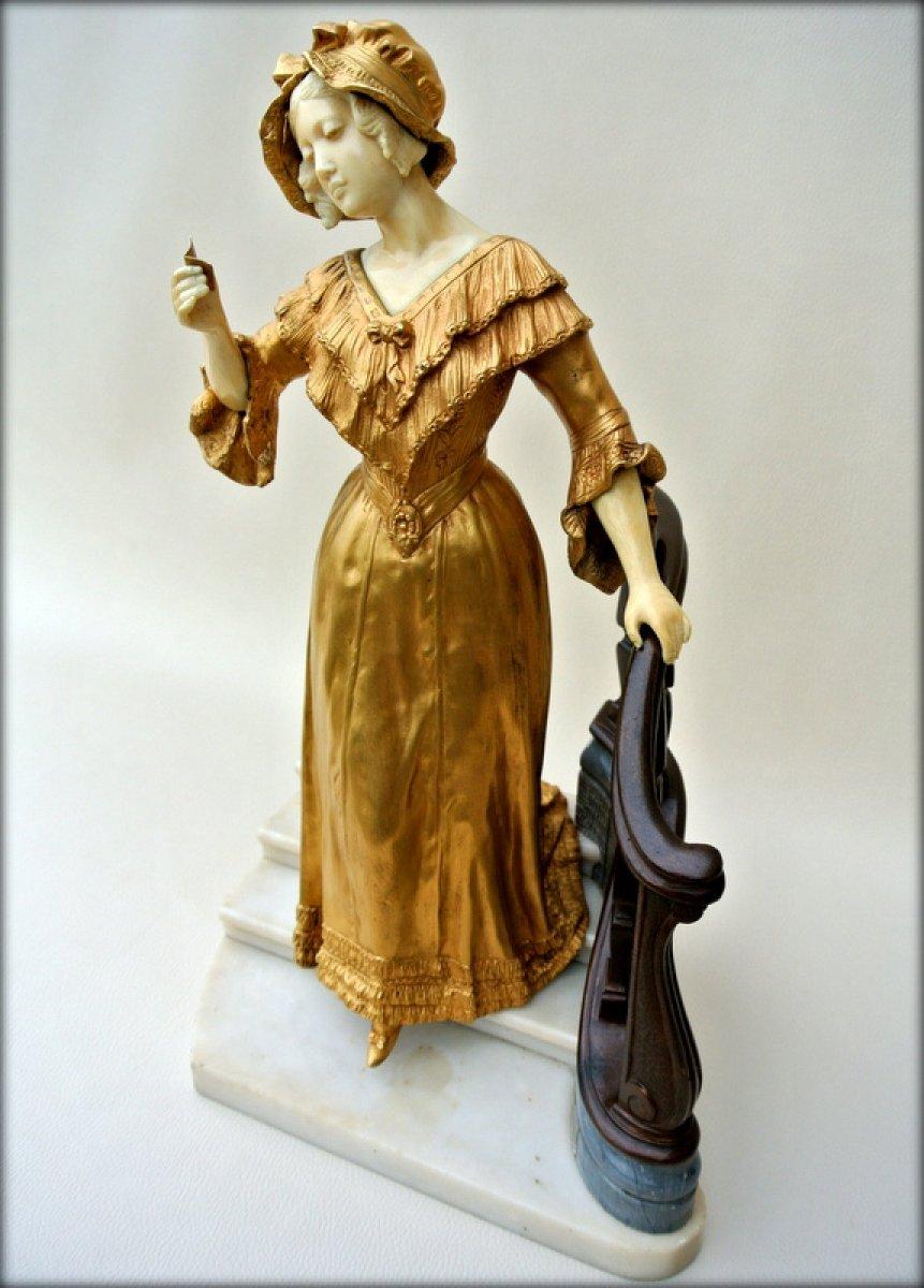 Statue Affortunato Gory Ref 48388