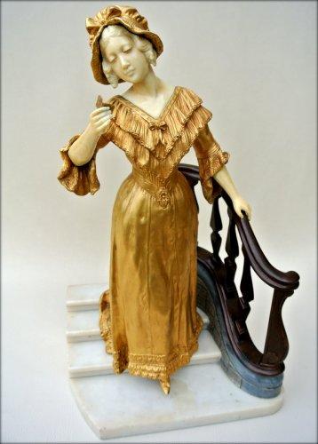 Statue - Affortunato GORY - Sculpture Style Art Déco