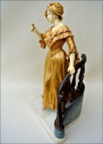 20th century - Statue - Affortunato GORY