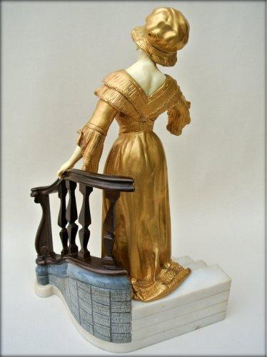 Statue - Affortunato GORY - Art Déco