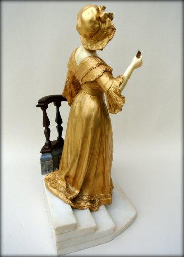 Art Déco - Statue - Affortunato GORY