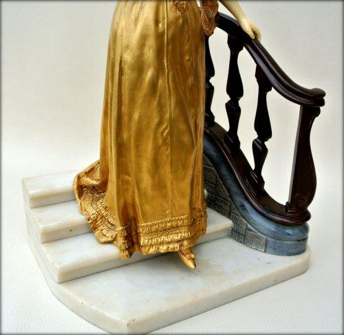 Antiquités - Statue - Affortunato GORY