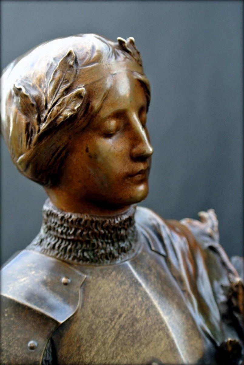 Bronze Figure Signed P Gasq 1918 Ref 48732