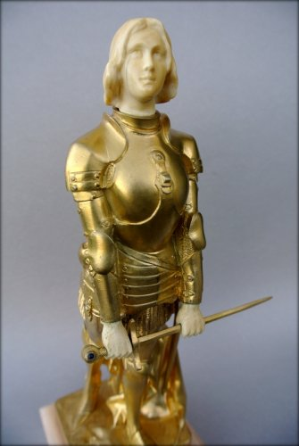 20th century - Joan of Arc in armor by Georges SAULO