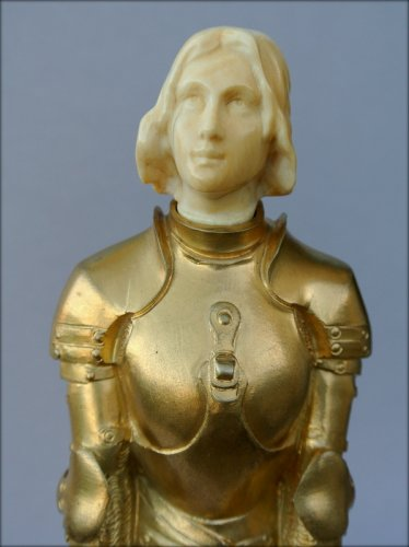 Art Déco - Joan of Arc in armor by Georges SAULO