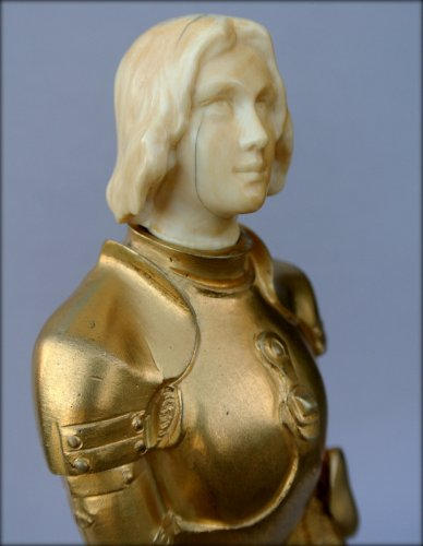 Antiquités - Joan of Arc in armor by Georges SAULO