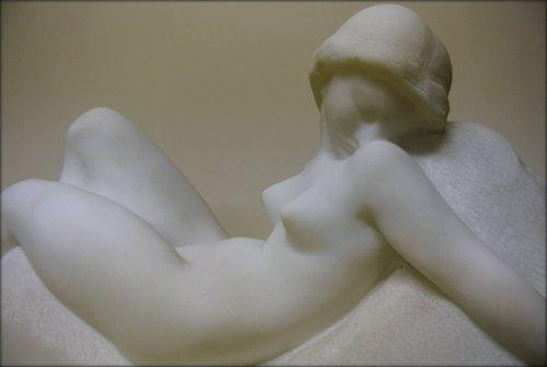 Art Deco Marble Sculpture signed Gennarelli - Art Déco