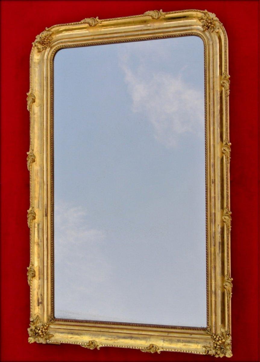Miroir du xixe for Miroir napoleon