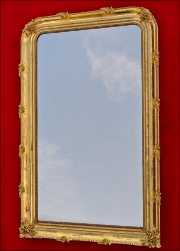 19th century mirror - Mirrors, Trumeau Style Napoléon III