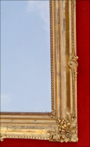 Mirrors, Trumeau  - 19th century mirror