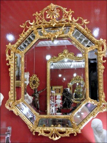 Miroir Napoléon III - Mirrors, Trumeau Style Napoléon III