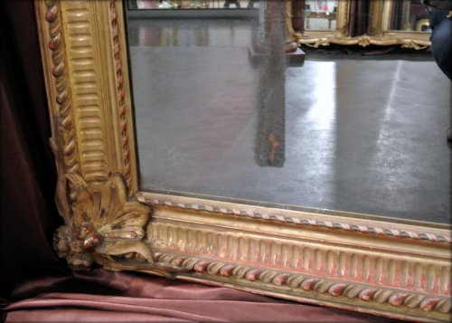 Pair of very large mirrors nineteenth - Napoléon III