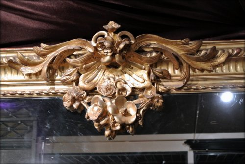 Napoléon III - Pair of very large mirrors nineteenth