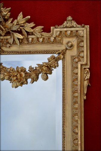 Mirrors, Trumeau  - 19th century mirror