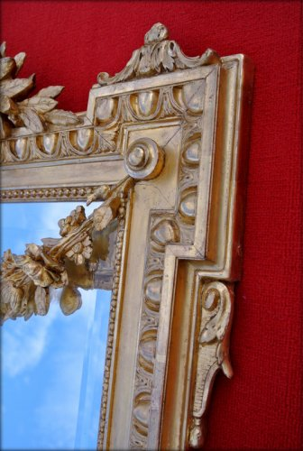 Antiquités - 19th century mirror