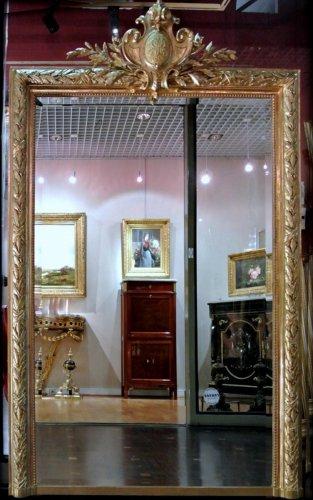 Miroir napol on iii antiquit s sur anticstore xixe si cle for Miroir napoleon