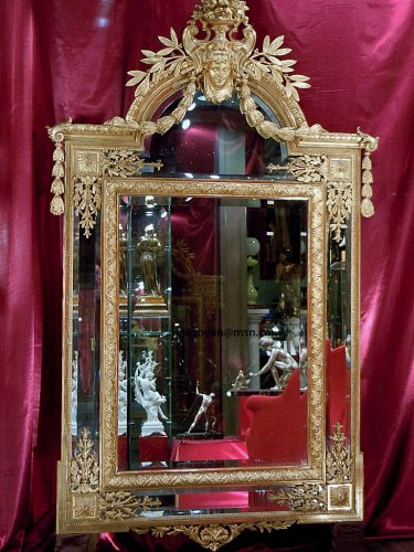 Large napoleon iii mirror
