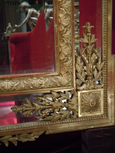 Large napoleon iii mirror - Mirrors, Trumeau Style Napoléon III