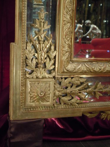 19th century - Large napoleon iii mirror