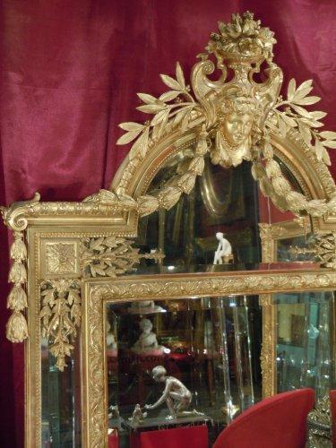 Napoléon III - Large napoleon iii mirror