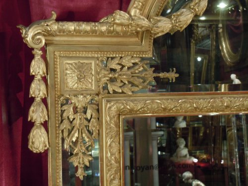 Antiquités - Large napoleon iii mirror