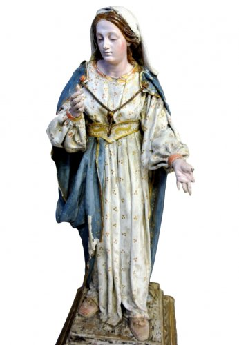Religious statue of the nineteenth century