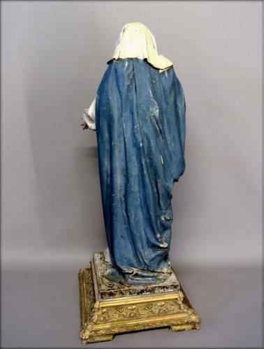 19th century - Religious statue of the nineteenth century