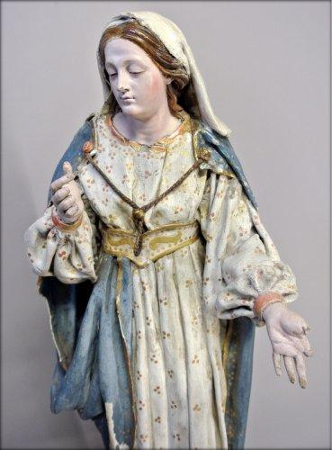 Antiquités - Religious statue of the nineteenth century