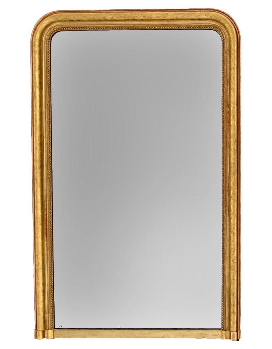Grand miroir louis philippe xixe si cle for Grand miroir large
