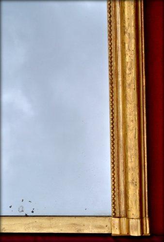 19th century - Grand mirror Louis Philippe