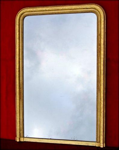 Antiquités - Grand mirror Louis Philippe