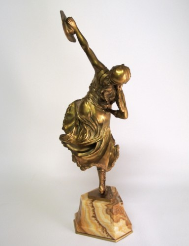 20th century - Dancer of Mexico - Bronze CL JR COLINET