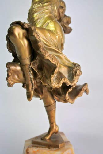 Antiquités - Dancer of Mexico - Bronze CL JR COLINET