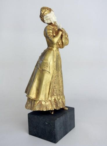 Elegant young woman - René Marquet (1875-1939) -