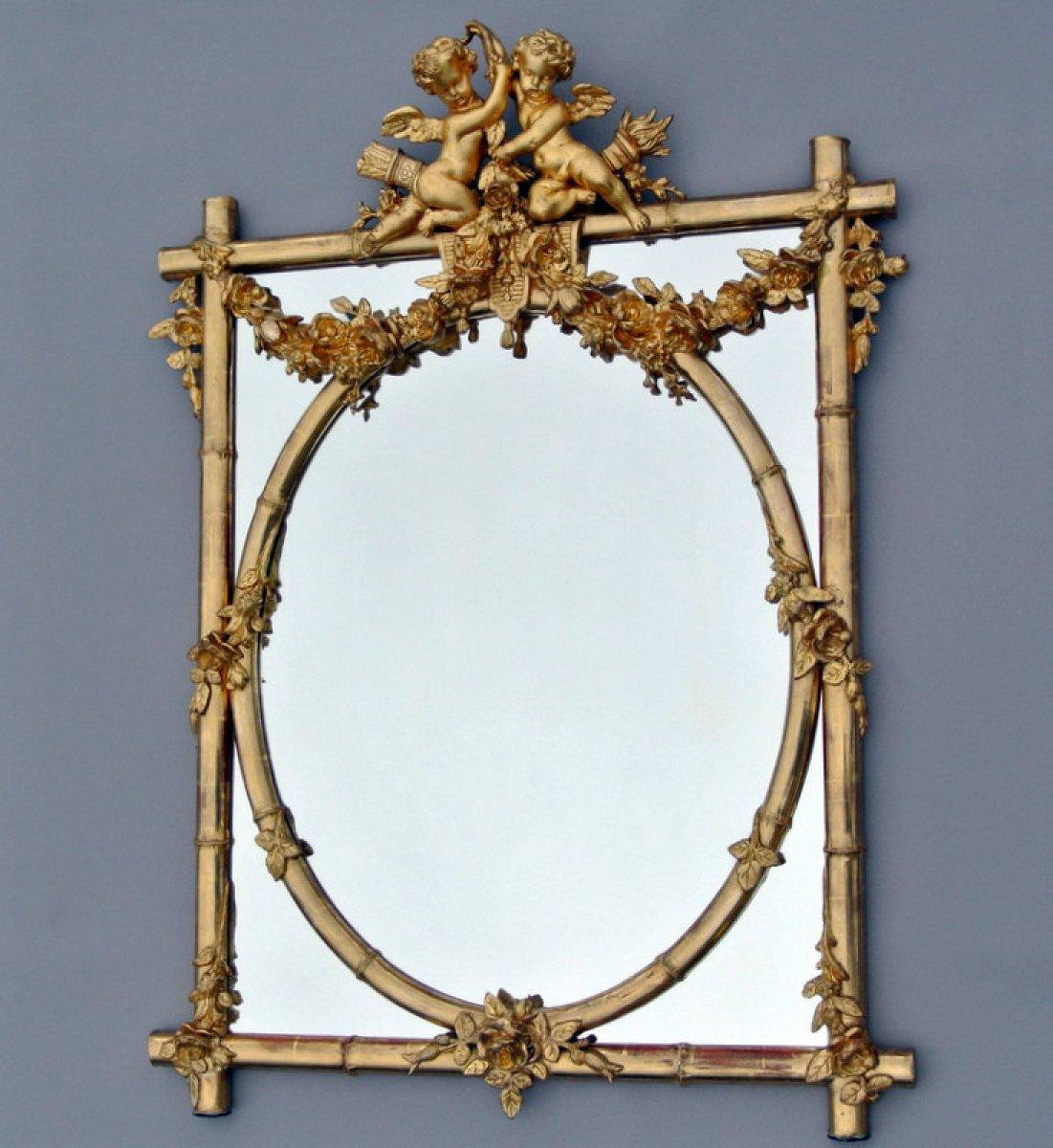 Miroir napol on iii xixe si cle for Marc miroir kraft