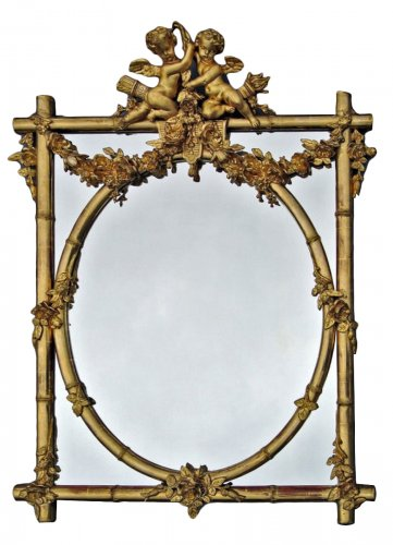 Mirror late 19th cenury