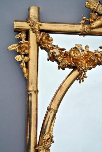 Antiquités - Mirror late 19th cenury