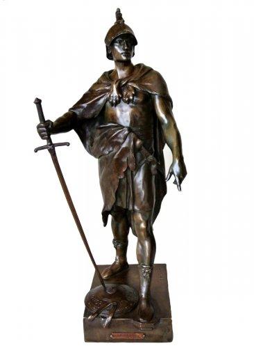 Statue signed E. PICAULT
