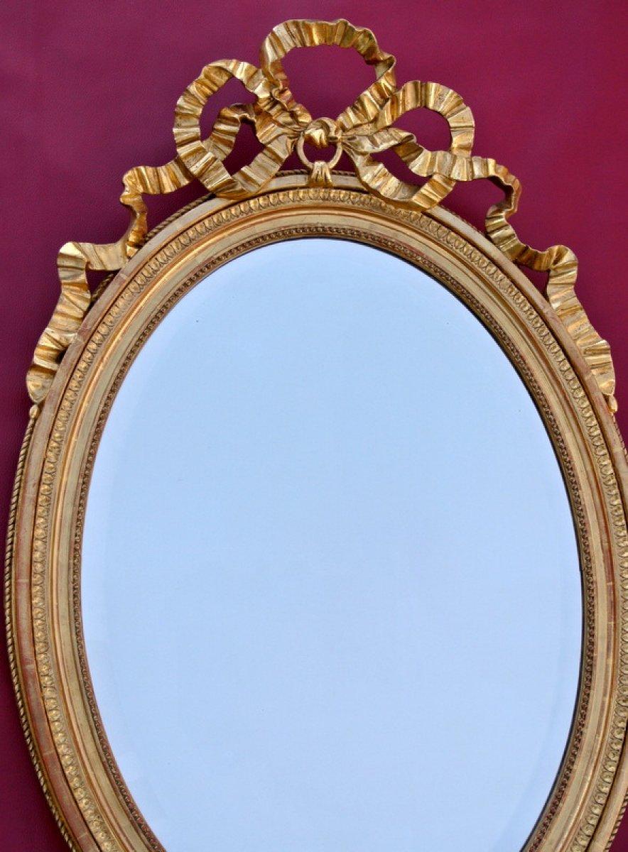 Miroir ovale fin xixe for Marc miroir kraft