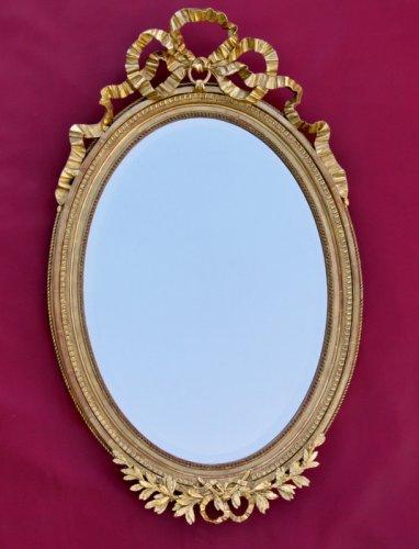 Miroir late XIXth - Mirrors, Trumeau Style Napoléon III