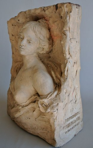 Sculpture signed CH. DESVERGNES -