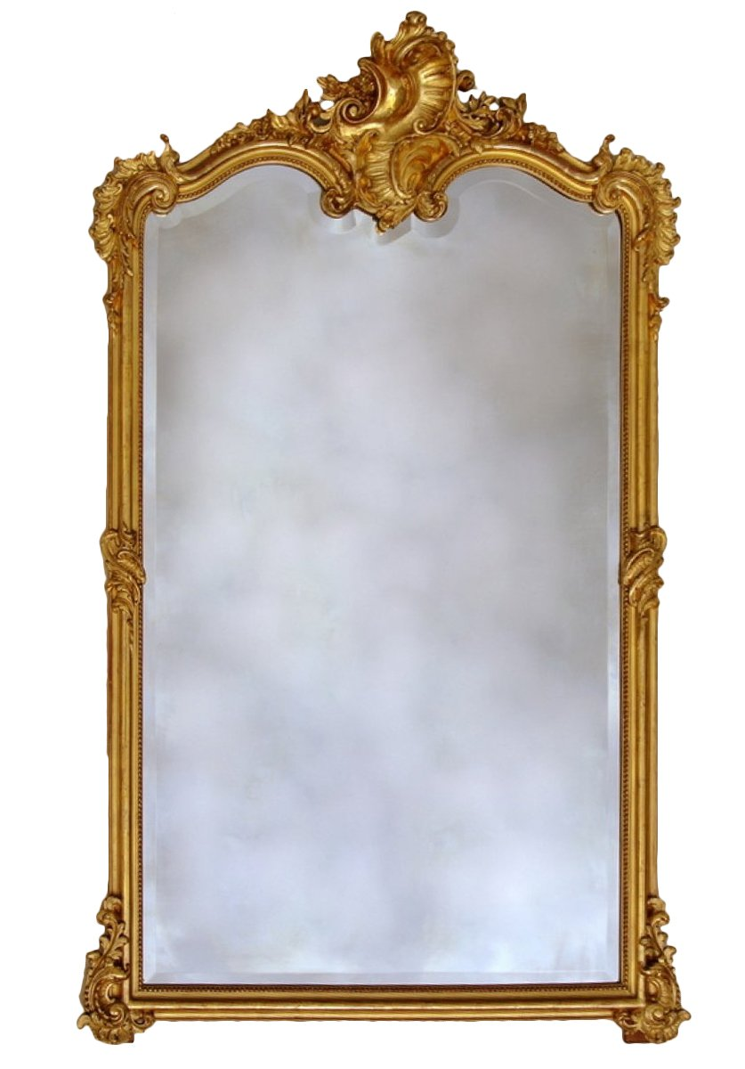 Grand miroir napol on iii xixe si cle for Grand miroir large
