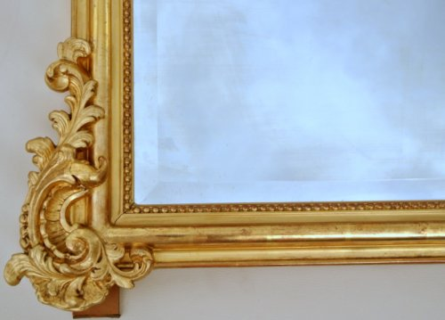Mirrors, Trumeau  - Large Napoleon III Mirror