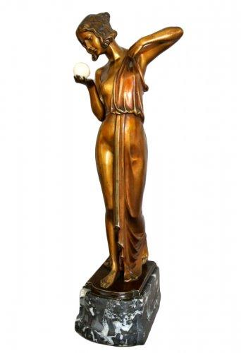 Bronze statue -  Joseph DORLS (1869-1945)