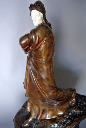 DANTE ALIGHIERI by Constant DELAIGUE - Art nouveau