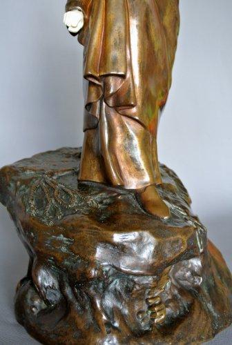 Art nouveau - DANTE ALIGHIERI by Constant DELAIGUE