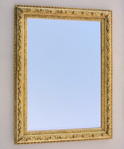 Mirror with sharp angles mid 19th century - Mirrors, Trumeau Style Restauration - Charles X