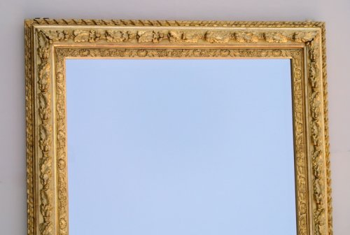 Mirrors, Trumeau  - Mirror with sharp angles mid 19th century
